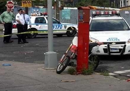 Патрулка блъсна и уби мотоциклетист (Видео)