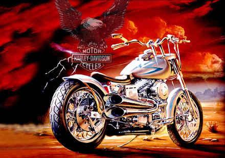 Harley-Davidson на Балкански мото рок фест Велико Търново 2012