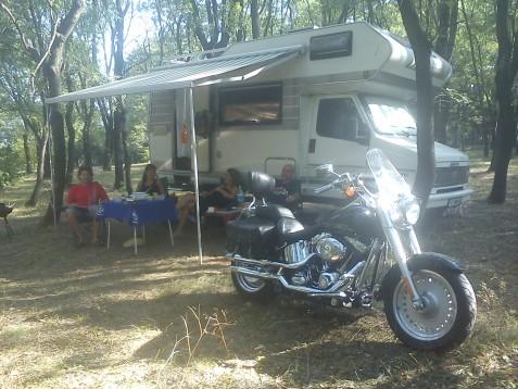 Първи гости на Балкански мото рок фест Велико Търново 2012 01