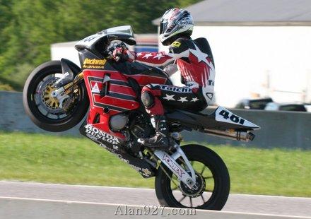 С 260 км/час на мотоциклет (видео)