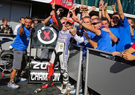 Хорхе Лоренсо – световен шампион в MotoGP за 2012 г.