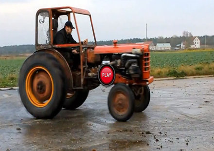 Бърз и яростен трактор