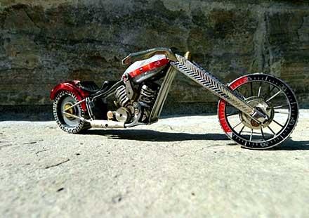 Тиктакащи мотоциклети