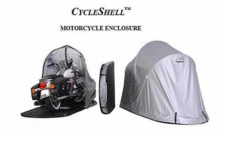 Сгъваем гараж за мотоциклети