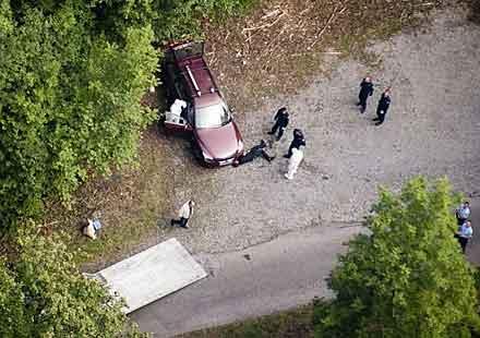 Мотоциклетист заподозрян за масовото убийство в Алпите
