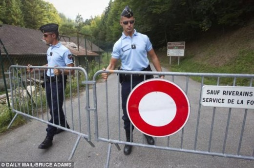 Мотоциклетист заподозрян за масовото убийство в Алпите 01