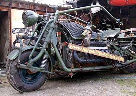 Мотоциклетен танк или танков мотоциклет?