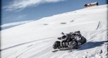 Triazuma Snow - версия снегоход на Wazuma ATV 02