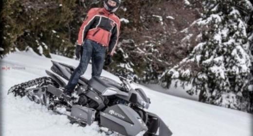 Triazuma Snow - версия снегоход на Wazuma ATV 04