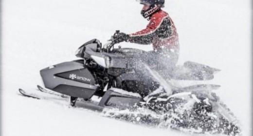 Triazuma Snow - версия снегоход на Wazuma ATV 07