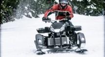 Triazuma Snow - версия снегоход на Wazuma ATV 12