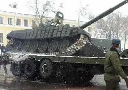 Как пада танк?
