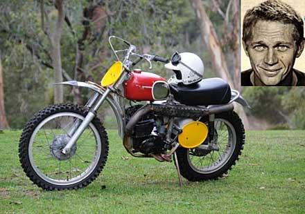 Не се намери купувач на мотоциклета на Стив Маккуин