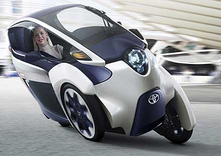 i-Road – хибрид между автомобил и мотор