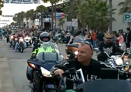 Daytona Bike Week 2013 (ВИДЕО)