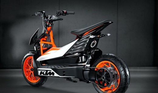 KTМ представиха концептуален модел на електрически скутер 01