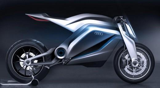 AUDI с концепт за мотоциклет 01
