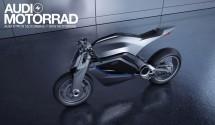 AUDI с концепт за мотоциклет 03