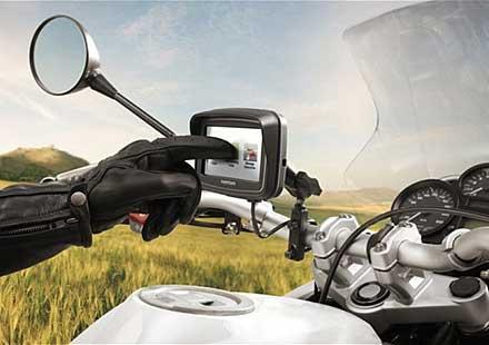 Навигационната система TomTom за две колела