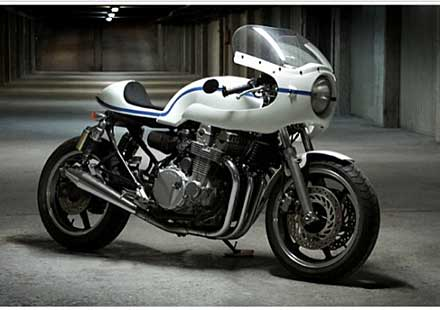 Honda CB750 Old Spirit от Ruleshaker Motorcycles