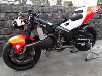 Първият състезателен мотоциклет на Кени Робъртс-младши обявен за продан 13