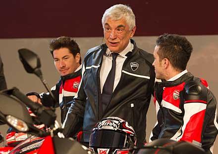 Шефът на Ducati напуска