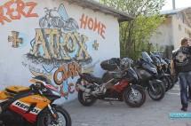 """Мотористите от мото клуб """"Атрокс"""" Панагюрище откриха клубната си къща 02"""