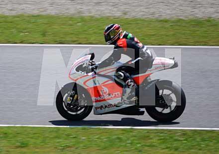 Макс Биаджи тества мотора на отбора Pramac Ducati