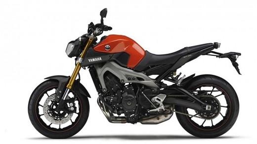 Новата Yamaha MT-09 излиза догодина 04