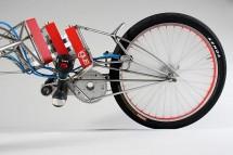 Мотоциклет, задвижван от винтоверти 04