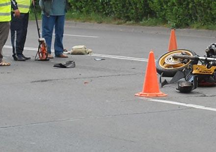 Мотоциклетист загина край Разград