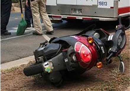 Млада жена е ударила мотоциклетист