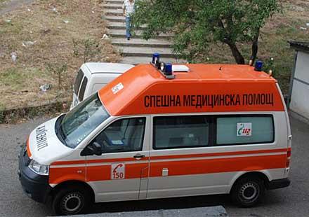 Моторист с опасност за живота след катастрофа на пътя Крушевец – Бургас