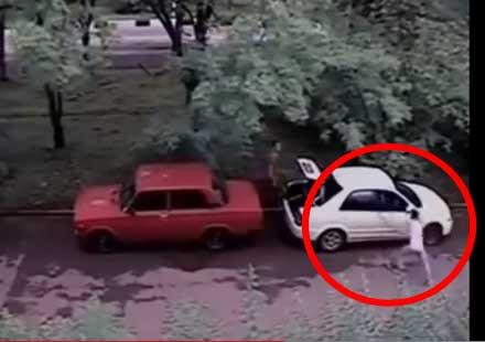 Eто защо не трябва да се краде бензин (видео)