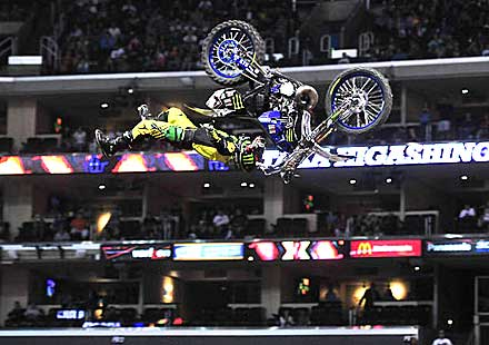 Райдърите на Monster Energy разграбиха медалите в X Games Moto X Freestyle на X Games Los Angeles