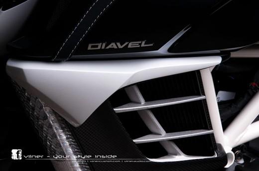 Дяволът на Ducati с тунинг от Vilner 13