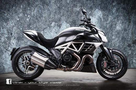 Дяволът на Ducati с тунинг от Vilner 19