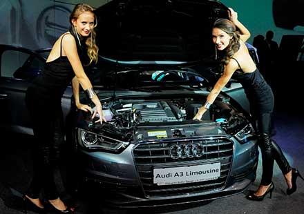 Audi A3 лимузина със стилна премиера в България
