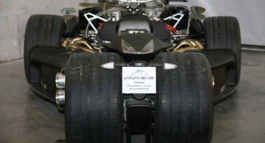 Французи създадоха квадроциклет с V8 от Ferrari 01