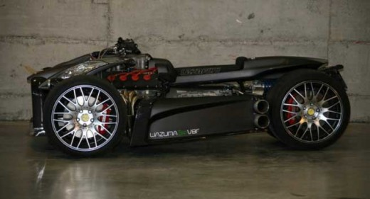 Французи създадоха квадроциклет с V8 от Ferrari 02
