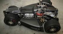Французи създадоха квадроциклет с V8 от Ferrari 03