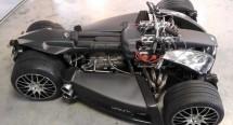 Французи създадоха квадроциклет с V8 от Ferrari 05