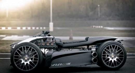 Французи създадоха квадроциклет с V8 от Ferrari 06