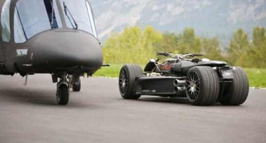 Французи създадоха квадроциклет с V8 от Ferrari 08