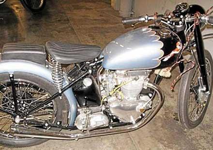 Американец си върна мотоциклет, откраднат преди половин век