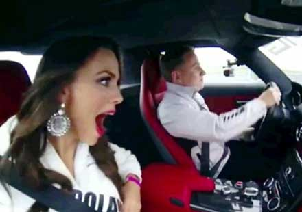 "Скрита камера в конкурса ""Мис Вселена 2013"" (видео)"