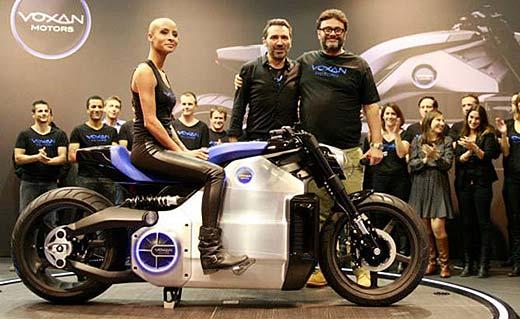 Voxan WATTMAN - най-мощният елелтрически мотоциклет в света 01