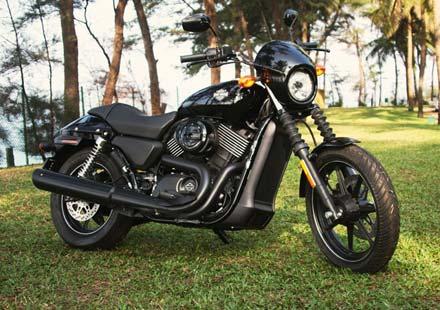 Капитан Америка представи новият Harley-Davidson Street™ 750 03