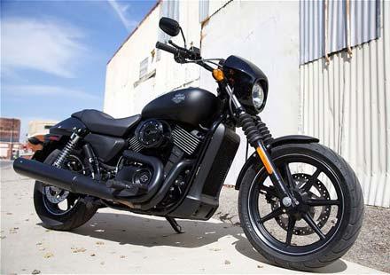 Капитан Америка представи новият Harley-Davidson Street™ 750 08