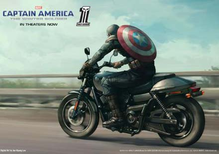 Капитан Америка представи новият Harley-Davidson Street™ 750 09